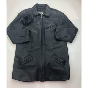 Pelle Studio Mens Jacket L Black Leather C50-03Z